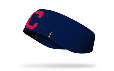 Cleveland Indians: Logo Navy Ear Warmer