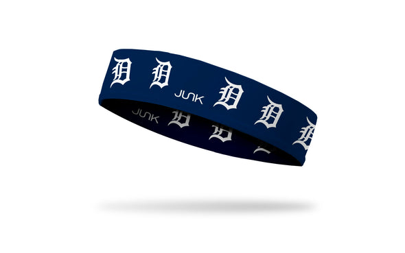 Detroit Tigers: White Logo Headband