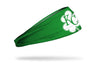 green headband with Kansas City Royals logo on white shamrock