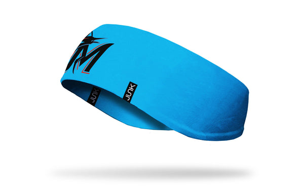 Miami Marlins: M Logo Teal Ear Warmer