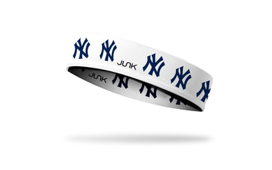 New York Yankees: White Headband