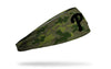 green Camo headband with Philadelphia Phillies logo in black