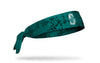 grunge overlay headband with Seattle Mariners logo in white