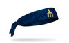 Seattle Mariners: Grunge Trident Navy Tie Headband