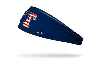 Texas Rangers: Flag Headband