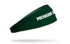 Michigan State University: Wordmark Green Headband