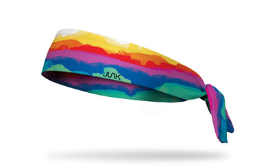 Multicolored Mountains Headband