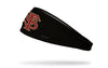 black headband with Florida State University baseball logo in garnet