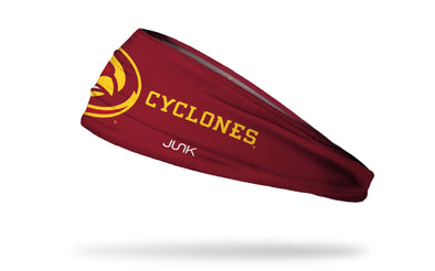 Iowa State University: Oversized Logo Red Headband