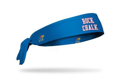 University of Kansas: Rock Chalk Royal Tie Headband