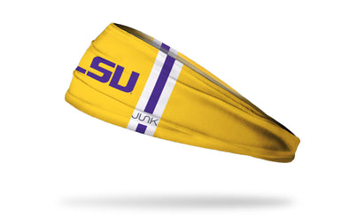 Louisiana State University: LSU Helmet Gold Headband