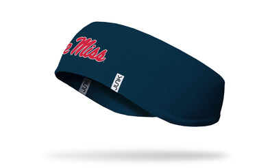 University of Mississippi: Logo Navy Ear Warmer