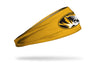 University of Missouri: Logo Gold Headband