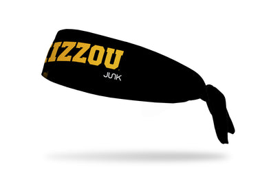 University of Missouri: Mizzou Black Tie Headband