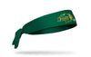 North Dakota State University: Logo Green Tie Headband