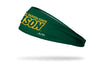 North Dakota State University: Wordmark Green Headband