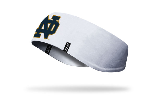 University of Notre Dame: Logo White Ear Warmer