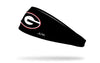 University of Georgia: Logo Black Headband
