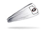 University of Georgia: State Logo White Headband