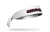 University of Georgia: Wordmark White Tie Headband