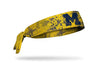 University of Michigan: Grunge Maize Tie Headband