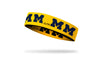 University of Michigan: Logo Gold Headband