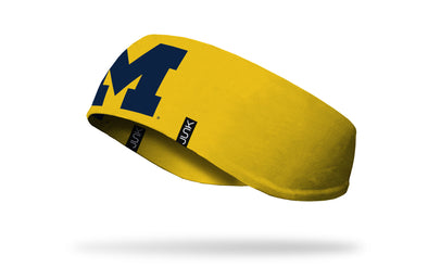 UMI University of Michigan Blue M Ear Warmer