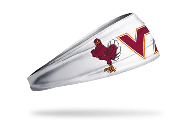 Virginia Tech: Mascot White Headband