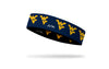 West Virginia University: Logo Blue Headband