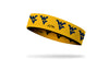 West Virginia University: Logo Yellow Headband
