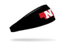 University of Nebraska: State Black Headband