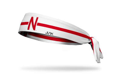 University of Nebraska: Helmet Stripe Tie
