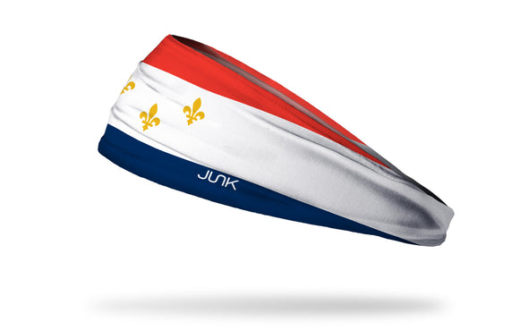 New Orleans Flag Headband