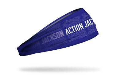 "NFL Players Association Headband Lamar Jackson ""Action Jackson"""