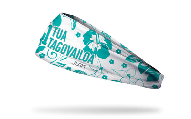 NFL Players Association Headband Tua Tagovailo Hawaiian Floral