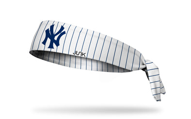 New York Yankees Pinstripe Tie Headband