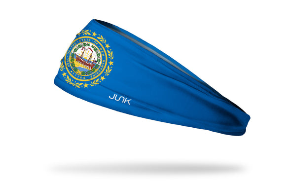 New Hampshire Flag Headband