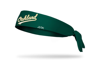 Oakland Athletics: O-Town Tie Headband