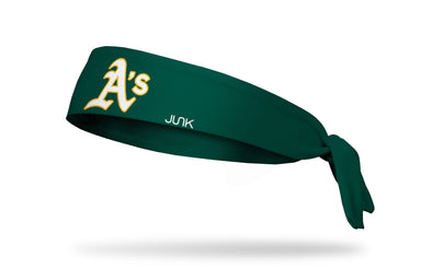 Oakland Athletics: Gold A's Tie Headband