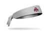 Ohio State: Logo Gray Tie Headband