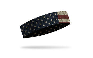Distressed American Flag Headband
