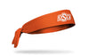 orange headband with Oklahoma State University O S U logo in white