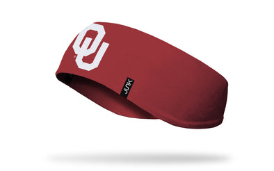University of Oklahoma: Logo Crimson Ear Warmer