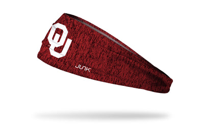University of Oklahoma: OU Heathered Headband