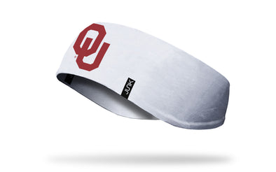 University of Oklahoma: Logo White Ear Warmer