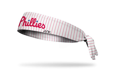 Philadelphia Phillies: Home Pinstripes Tie Headband