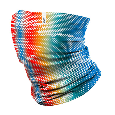 Rainbow Dot Winter Gaiter