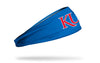 University of Kansas: Red KU Royal Headband