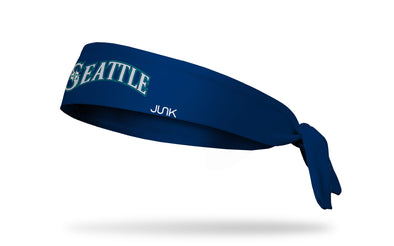 Seattle Mariners: Emerald City Navy Tie Headband