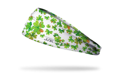 green headband st patricks day holiday shamrock theme